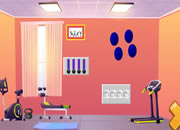 Sarah Escape From Gym