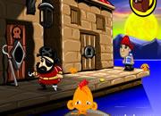 哄猴子开心 贪财的海盗