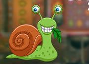 可愛的蝸牛逃脫