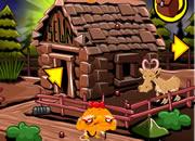哄猴子開心 木屋黃金