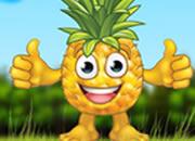 歡喜的菠蘿逃脫