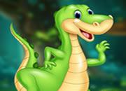 美麗的恐龍逃脫