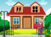 Help Granny To Open Mail Box