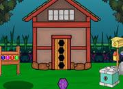 火鸡逃离房子