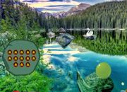Scenic Mountain Pond Escape