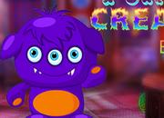 Fancied Purple Creature Escape