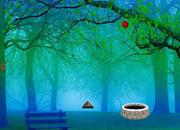 Blue Fog Jungle Escape