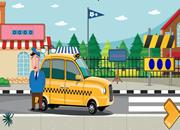 寻找出租车钥匙