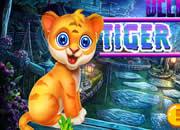 Delighted Tiger Cub Escape