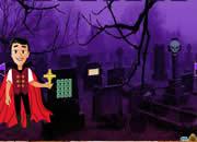 万圣节墓地08