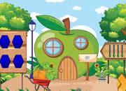 Gnome Apple House Escape