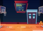 篮球运动员逃脱