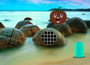万圣节南瓜海滩逃脱