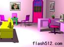 女孩的粉色房间9