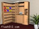 逃出木书架的房间