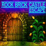 G4K Rock Brick Castle Escape Game